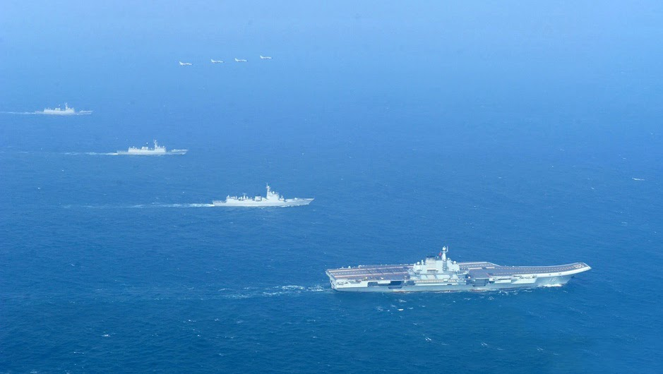 Chinese Carrier Battle Group