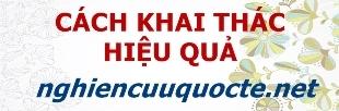 Hướng dẫn khai thác hiệu quả tài liệu trên nghiencuuquocte.net