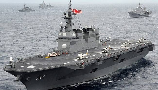 Japan-puts-helicopter-carrier-Izumo-on-sea-trials