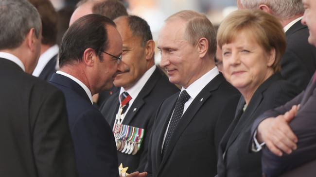 Putin-Merkel-Hollande
