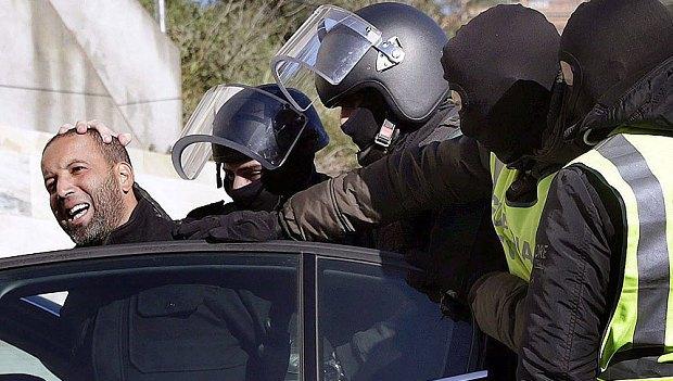 SPAIN TERRORISM ARRESTS