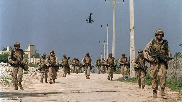 US troops in Somalia