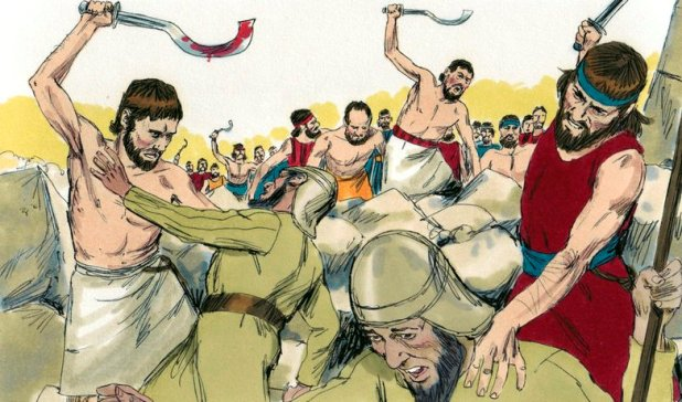 Book_of_Joshua_Chapter_6-7_(Bible_Illustrations_by_Sweet_Media)